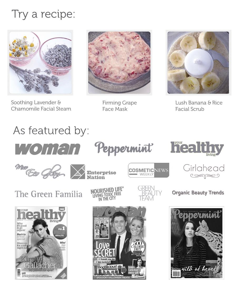 BeautyCraft website design As Featured by